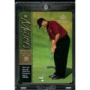 2001 Upper Deck #TWC21 Tiger Woods Golf Card  Mint Condition   Shipped