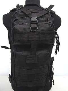 Level 3 Milspec Tactical Molle Assault Backpack Bag BK
