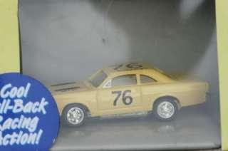 T10 FORD FAIRLANE STOCK CAR THUNDERJET 500 #76 YELLOW NIP NIB