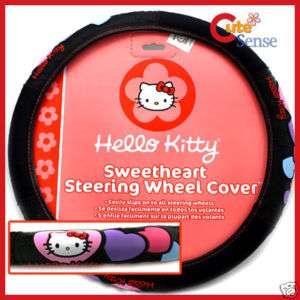 Hello Kitty SUV Steering Wheel Cover Car Auto Interior