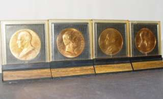 LOT 4 PRESIDENT Commemorative BRONZE COINS EISENHOWER,HOOVER,LINCOLN