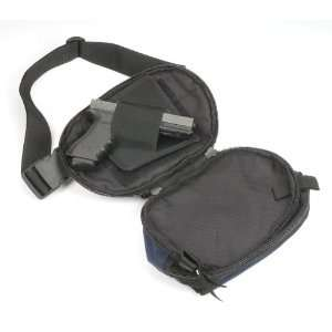 Large Fanny Pack Holster carrying gun & magazine: Sports
