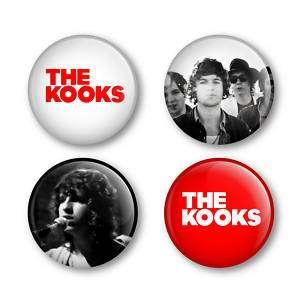 The Kooks Badges Buttons Pins Albums Tickets Shirts