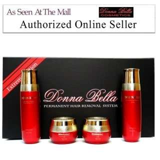 DONNA BELLA HAIR REMOVAL KIT+BTB 25mm CURLING IRON