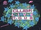 vintage t shirt MTV CLUB LIVE TOUR 80s POP NEON XL