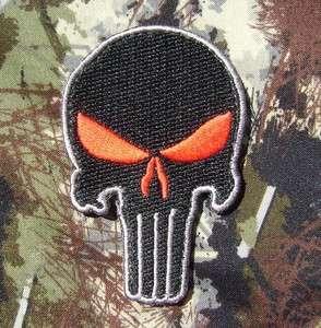 PUNISHER SKULL ARMY MORALE MILSPEC SWAT VELCRO PATCH
