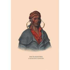 Art Payta Kootha (A Shawanoe Warrior)   05173 6: Home & Kitchen