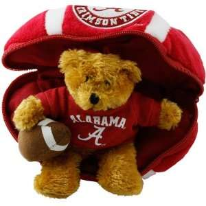 Alabama Crimson Tide Hidden Plush Bear Football Toy