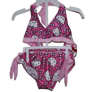 Bikini Swimsuit Bathing Suit Toddler Girl Size 5/6 Pink Everything