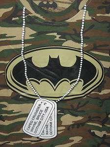 BATMAN DC Comic Book movie Hero VINTAGE Retro BOYS CAMO T sHiRt M