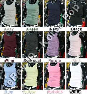 sleeveless shirts gym athletic tank top undershirts 1 2color available
