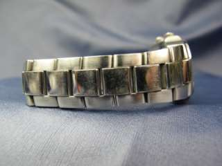 Philip Stein Teslar Stainless Double Dial Quartz Watch #420