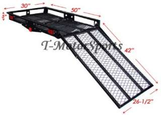 500# ELECTRIC WHEELCHAIR SCOOTER MOBILITY CARRIER RAMP