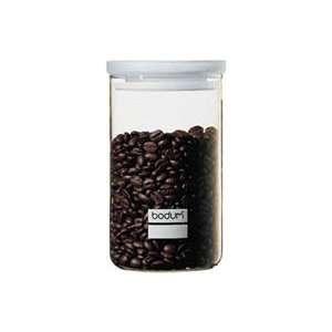 Bodum 34oz Yohki Glass Storage Jar with Milk White Lid