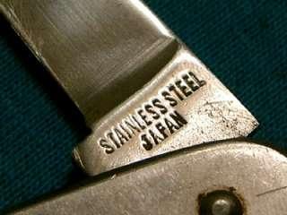 VINTAGE TELO JAPAN YACHTING BOSUN NAVY SAILORS RIGGING ROPE KNIFE