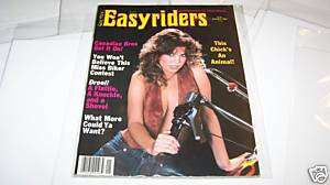 JAN 1983 EASYRIDERS MOTORCYCLE magazine DAVID MANN
