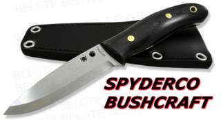 Spyderco Bushcraft UK G 10 Fixed Blade NUMBERED FB26GP