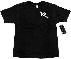 ROCAWEAR Boys Black Logo Tee Shirt NWT $20