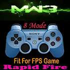 PS3 Black OPS 8 Modded Rapid Fire Modified Dualshock 3 Controller