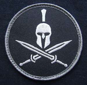 MILITARY MORALE MILSPEC SPECIAL BLACK OPS SWAT VELCRO PATCH