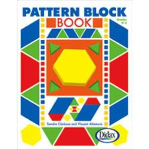 6 Pack DIDAX PATTERN BLOCK BOOK