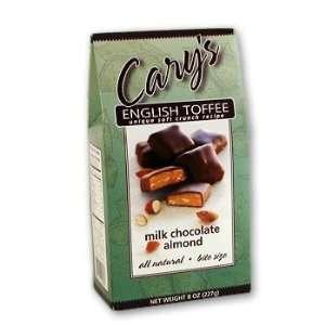 Carys Milk Chocolate Almond Toffee  Grocery & Gourmet
