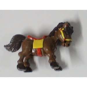 Vintage Smurfs Schleich Brown Horse: Everything Else