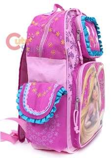 Princess Tangled Rapunzel School Backpack Lunch Bag Set