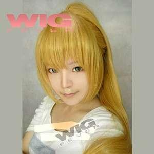115cm Cosplay Golden Blonde Fashion Wig