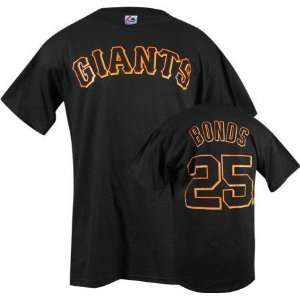 Barry Bonds Majestic Name and Number San Francisco Giants