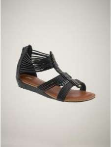 GAP KIDS sz 11 HAVANA BLACK GLADIATOR Sandals girls 2011