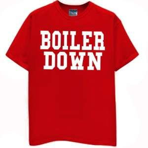 BOILER DOWN t shirt hoosiers jersey indiana basketball funny football
