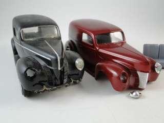 Vintage 1930s Sedan Delivery Truck Car Model Built Pro Paint AMT Set