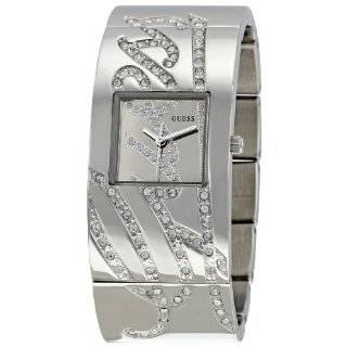 Guess Womens U12539L1 Silver Stainless Steel Quartz Watch