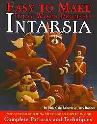 Intarsia by Jerry Booher and Judy Gale Roberts 1995, Paperback