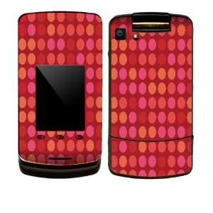 Red Polka Dots Design Decal Protective Skin Sticker for