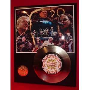 Gold Record Outlet RUSH 24KT Gold Record Display Sports