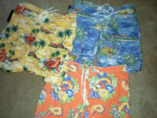 NWT Polo Ralph Lauren mens swimsuit board shorts XL, 36