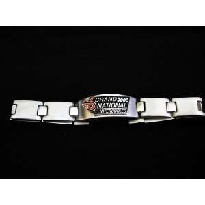 Grand National(Buick) Stainless Steel Mens Id Bracelet