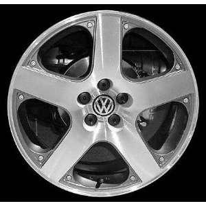 01 03 VW VOLKSWAGEN JETTA ALLOY WHEEL RIM 17 INCH, Diameter 17, Width