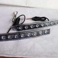 Audi Style LED Daytime Running Light DRL Kit Fog Day Driving Daylight