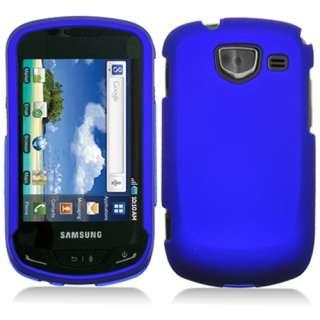 Samsung Brightside U380 Verizon Blue Rubberized Hard Case Cover+Screen