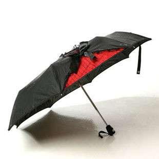 Black Red Auto Folding Sun Umbrella Parasol W Lace On Popscreen