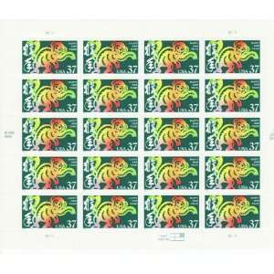 Chinese Lunar New Year Monkey Collectible Stamp Sheet