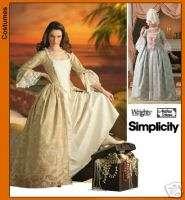 SIMPLICITY 4092 Misses Buccaneer Costume Pattern 14 20