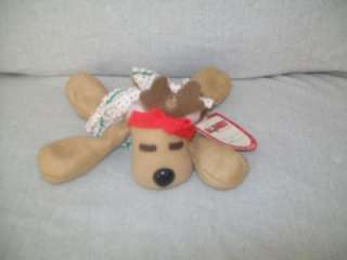 TAGS HALLMARK 1984 RHONDA REINDEER BURGER KING PLUSH