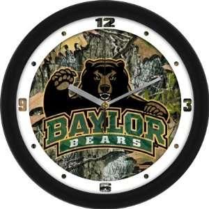 Baylor University Bears BU NCAA 12In Camo Wall Clock
