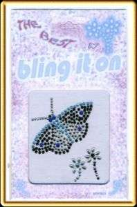 Rhinestone Stickers BUTTERFLY Body Tattoos Jewels #176