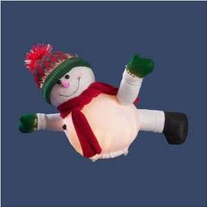 Orman Inc. 16007 14 Fiber Optic Sliding Snowman Kitchen
