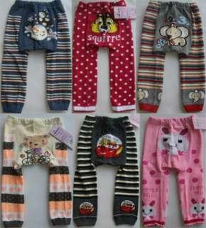 wholesale baby toddler leggings tight socks pants 5pc